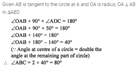 ML Aggarwal Class 10 Solutions for ICSE Maths Chapter 15 Circles Ex 15.3 44