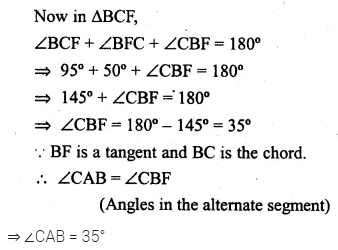 ML Aggarwal Class 10 Solutions for ICSE Maths Chapter 15 Circles Ex 15.3 51