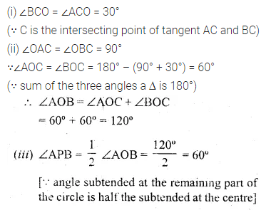 ML Aggarwal Class 10 Solutions for ICSE Maths Chapter 15 Circles Ex 15.3 56