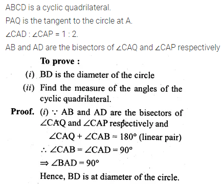 ML Aggarwal Class 10 Solutions for ICSE Maths Chapter 15 Circles Ex 15.3 61