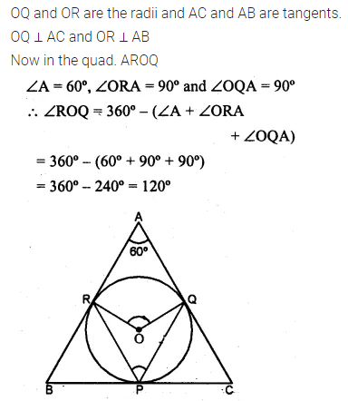 ML Aggarwal Class 10 Solutions for ICSE Maths Chapter 15 Circles Ex 15.3 63