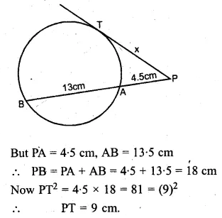 ML Aggarwal Class 10 Solutions for ICSE Maths Chapter 15 Circles Ex 15.3 79