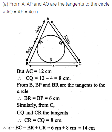 ML Aggarwal Class 10 Solutions for ICSE Maths Chapter 15 Circles Ex 15.3 8