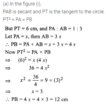 ML Aggarwal Class 10 Solutions for ICSE Maths Chapter 15 Circles Ex 15.3 83