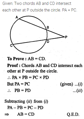ML Aggarwal Class 10 Solutions for ICSE Maths Chapter 15 Circles Ex 15.3 85