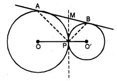 ML Aggarwal Class 10 Solutions for ICSE Maths Chapter 15 Circles Ex 15.3 99