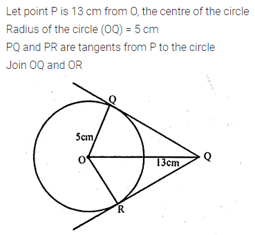 ML Aggarwal Class 10 Solutions for ICSE Maths Chapter 15 Circles MCQS 19