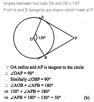 ML Aggarwal Class 10 Solutions for ICSE Maths Chapter 15 Circles MCQS 21