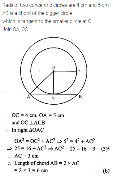 ML Aggarwal Class 10 Solutions for ICSE Maths Chapter 15 Circles MCQS 28