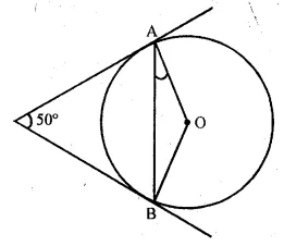 ML Aggarwal Class 10 Solutions for ICSE Maths Chapter 15 Circles MCQS 33