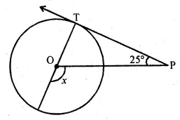 ML Aggarwal Class 10 Solutions for ICSE Maths Chapter 15 Circles MCQS 40