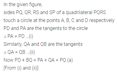 ML Aggarwal Class 10 Solutions for ICSE Maths Chapter 15 Circles MCQS 47