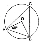 ML Aggarwal Class 10 Solutions for ICSE Maths Chapter 15 Circles MCQS 7