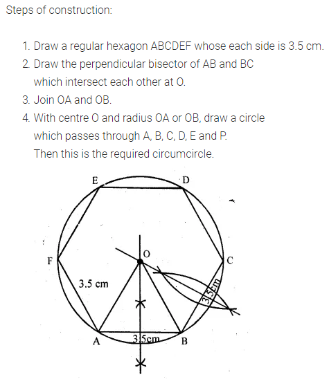 ML Aggarwal Class 10 Solutions for ICSE Maths Chapter 16 Constructions Chapter Test 7