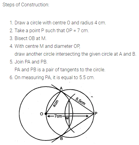 ML Aggarwal Class 10 Solutions for ICSE Maths Chapter 16 Constructions Ex 16.1 1