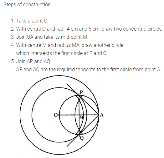 ML Aggarwal Class 10 Solutions for ICSE Maths Chapter 16 Constructions Ex 16.1 3