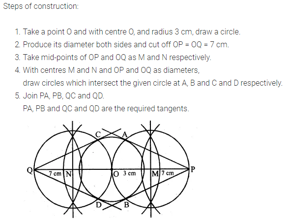 ML Aggarwal Class 10 Solutions for ICSE Maths Chapter 16 Constructions Ex 16.1 4