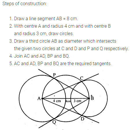 ML Aggarwal Class 10 Solutions for ICSE Maths Chapter 16 Constructions Ex 16.1 5