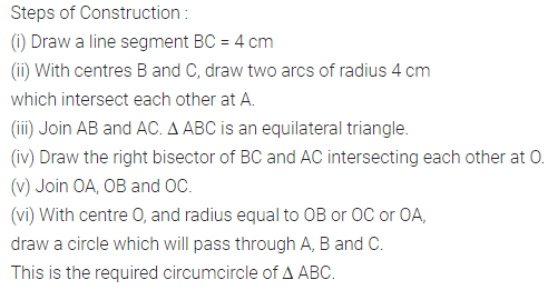 ML Aggarwal Class 10 Solutions for ICSE Maths Chapter 16 Constructions Ex 16.2 1