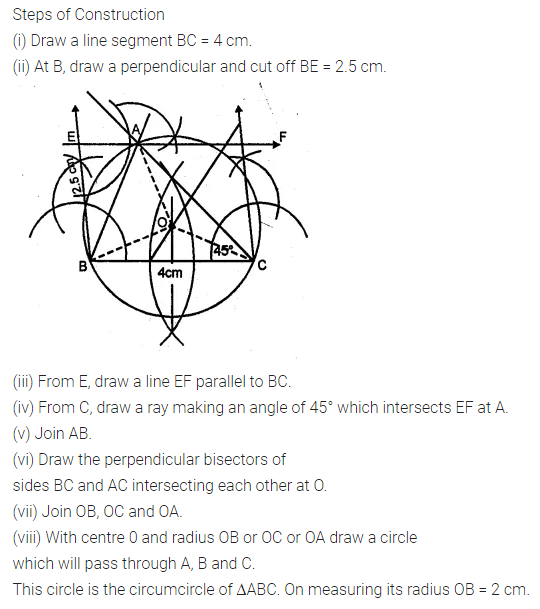 ML Aggarwal Class 10 Solutions for ICSE Maths Chapter 16 Constructions Ex 16.2 10