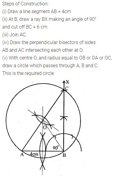 ML Aggarwal Class 10 Solutions for ICSE Maths Chapter 16 Constructions Ex 16.2 3