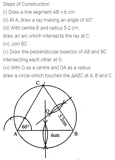 ML Aggarwal Class 10 Solutions for ICSE Maths Chapter 16 Constructions Ex 16.2 5