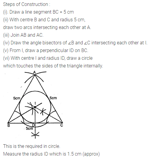 ML Aggarwal Class 10 Solutions for ICSE Maths Chapter 16 Constructions Ex 16.2 6