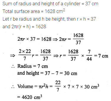 ML Aggarwal Class 10 Solutions for ICSE Maths Chapter 17 Mensuration Ex 17.1 16