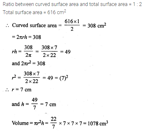ML Aggarwal Class 10 Solutions for ICSE Maths Chapter 17 Mensuration Ex 17.1 18