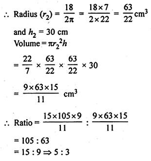 ML Aggarwal Class 10 Solutions for ICSE Maths Chapter 17 Mensuration Ex 17.1 20
