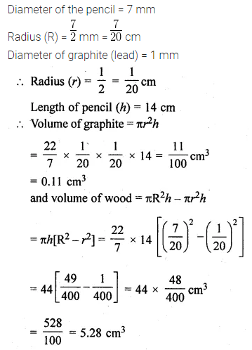 ML Aggarwal Class 10 Solutions for ICSE Maths Chapter 17 Mensuration Ex 17.1 24