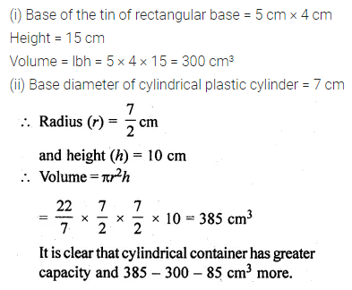 ML Aggarwal Class 10 Solutions for ICSE Maths Chapter 17 Mensuration Ex 17.1 25