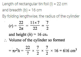 ML Aggarwal Class 10 Solutions for ICSE Maths Chapter 17 Mensuration Ex 17.1 5