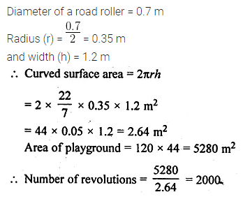 ML Aggarwal Class 10 Solutions for ICSE Maths Chapter 17 Mensuration Ex 17.1 8