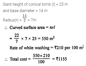 ML Aggarwal Class 10 Solutions for ICSE Maths Chapter 17 Mensuration Ex 17.2 10