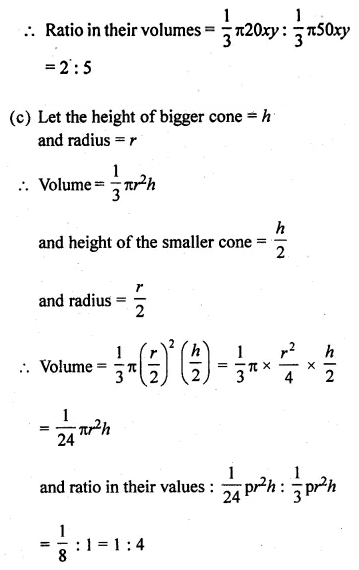 ML Aggarwal Class 10 Solutions for ICSE Maths Chapter 17 Mensuration Ex 17.2 14
