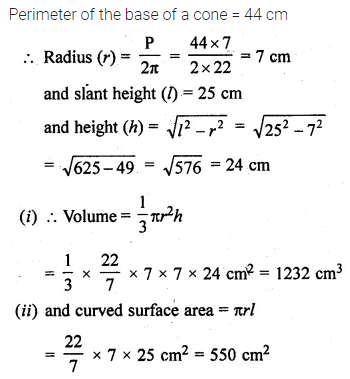 ML Aggarwal Class 10 Solutions for ICSE Maths Chapter 17 Mensuration Ex 17.2 16