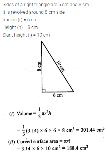 ML Aggarwal Class 10 Solutions for ICSE Maths Chapter 17 Mensuration Ex 17.2 19