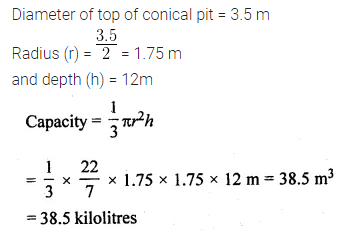 ML Aggarwal Class 10 Solutions for ICSE Maths Chapter 17 Mensuration Ex 17.2 7