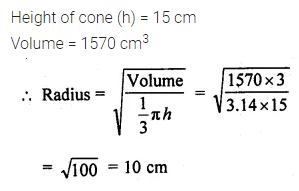 ML Aggarwal Class 10 Solutions for ICSE Maths Chapter 17 Mensuration Ex 17.2 9