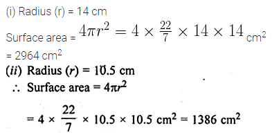 ML Aggarwal Class 10 Solutions for ICSE Maths Chapter 17 Mensuration Ex 17.3 1