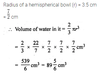 ML Aggarwal Class 10 Solutions for ICSE Maths Chapter 17 Mensuration Ex 17.3 15