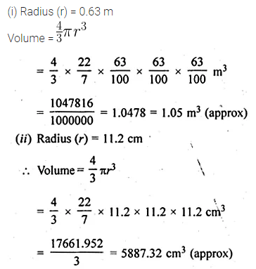ML Aggarwal Class 10 Solutions for ICSE Maths Chapter 17 Mensuration Ex 17.3 2