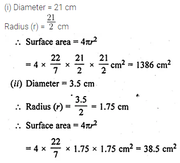 ML Aggarwal Class 10 Solutions for ICSE Maths Chapter 17 Mensuration Ex 17.3 3