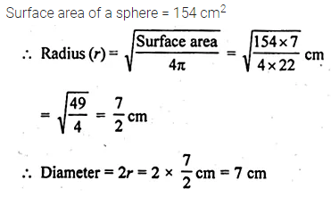 ML Aggarwal Class 10 Solutions for ICSE Maths Chapter 17 Mensuration Ex 17.3 5