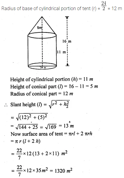 ML Aggarwal Class 10 Solutions for ICSE Maths Chapter 17 Mensuration Ex 17.4 15