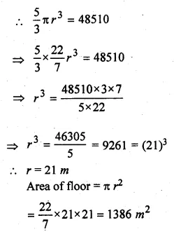 ML Aggarwal Class 10 Solutions for ICSE Maths Chapter 17 Mensuration Ex 17.4 27