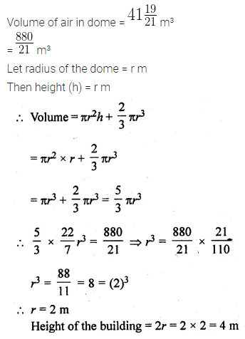 ML Aggarwal Class 10 Solutions for ICSE Maths Chapter 17 Mensuration Ex 17.4 28