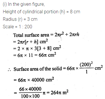 ML Aggarwal Class 10 Solutions for ICSE Maths Chapter 17 Mensuration Ex 17.4 36