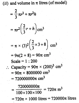 ML Aggarwal Class 10 Solutions for ICSE Maths Chapter 17 Mensuration Ex 17.4 37